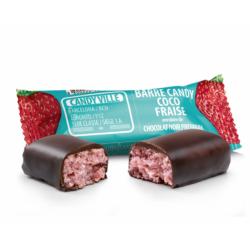 BARRE CANDY COCO FRAISE - 50G