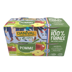 COMPOTE POMME 4X110G